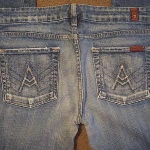 7 For All Mankind Jeans - 7 for all mankind Jean's sz 29